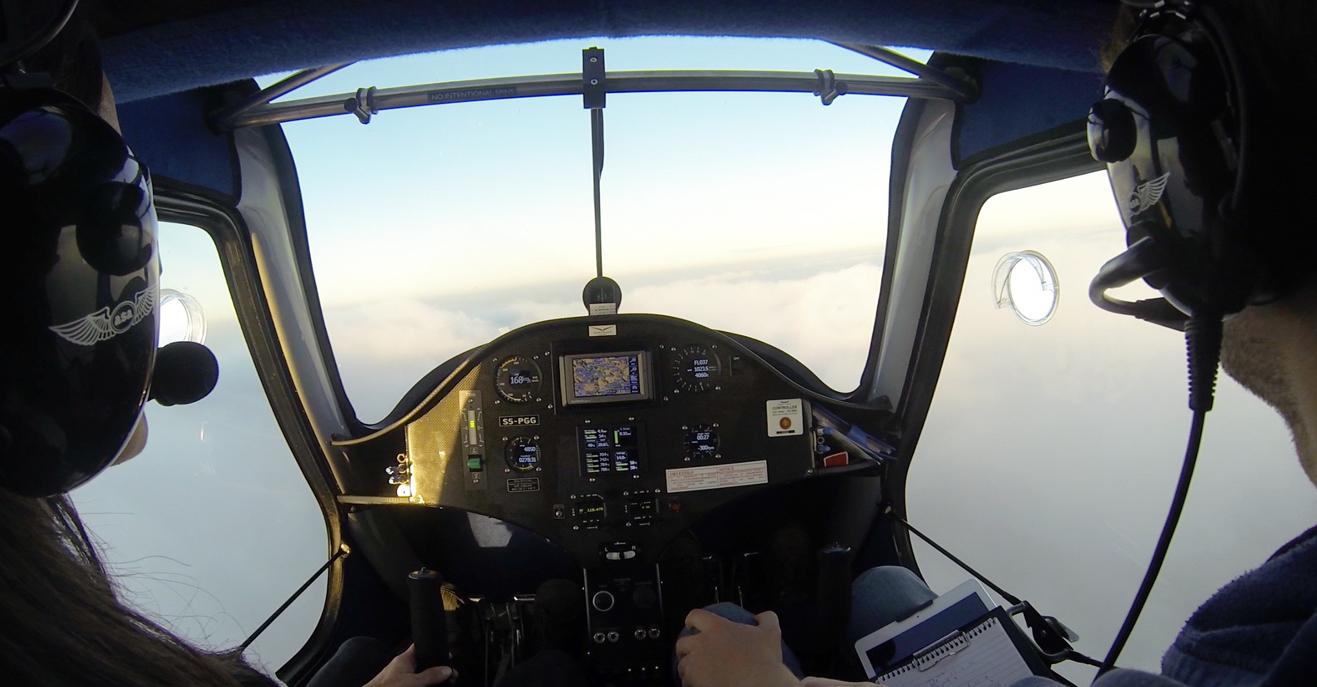 Letalsko šolanje v Akademiji 4.